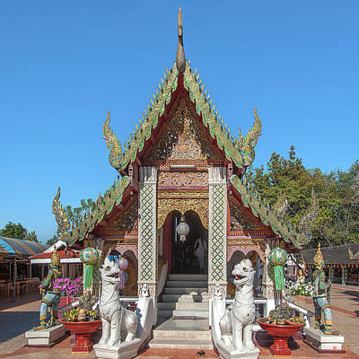 Photograph - Wat Phra That Doi Kham Phra Wihan Dthcm2355 by Gerry Gantt