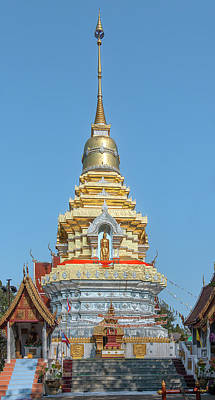 Photograph - Wat Phra That Doi Saket Phra That Chedi Dthcm2166 by Gerry Gantt