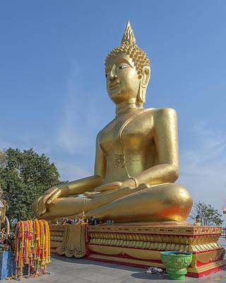 Photograph - Wat Phra Yai Sukothai Walai-cholatharn Buddha Dthcb0007 by Gerry Gantt