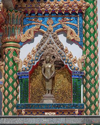 Photograph - Wat Phratat Chom Taeng Phra Ubosot Buddha Image Niche Dthcm1693 by Gerry Gantt