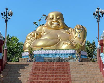 Photograph - Wat Piyaram Wealth Luck Buddha Shrine Dthcm1233 by Gerry Gantt