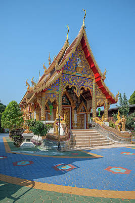 Photograph - Wat Rong Oa Phra Wihan Dthcm1438 by Gerry Gantt