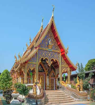 Photograph - Wat Rong Oa Phra Wihan Dthcm1439 by Gerry Gantt