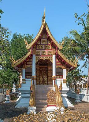 Photograph - Wat San Sai Ton Kok Phra Ubosot Dthcm1395 by Gerry Gantt