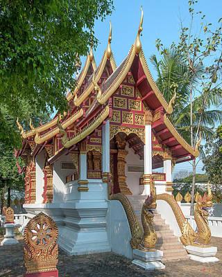 Photograph - Wat San Sai Ton Kok Phra Ubosot Dthcm1400 by Gerry Gantt