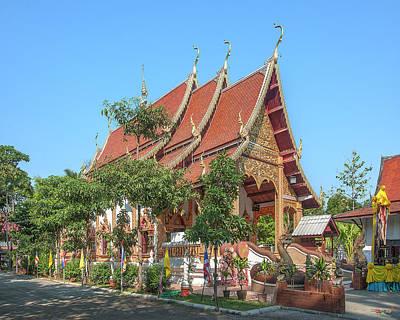 Photograph - Wat San Sai Ton Kok Phra Wihan Dthcm1385 by Gerry Gantt