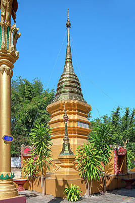 Photograph - Wat Sara Chatthan Phra That Chedi Dthcm1719 by Gerry Gantt