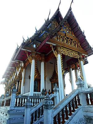 Wat Sawangfa 11 Art Print