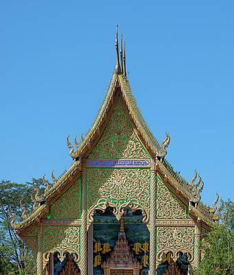 Photograph - Wat Si Chomphu Phra Wihan Gable Dthcm1705 by Gerry Gantt