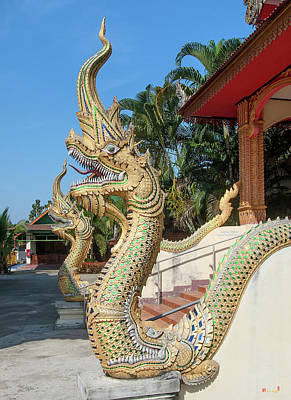 Photograph - Wat Si Chum Naga Dthlu0127 by Gerry Gantt