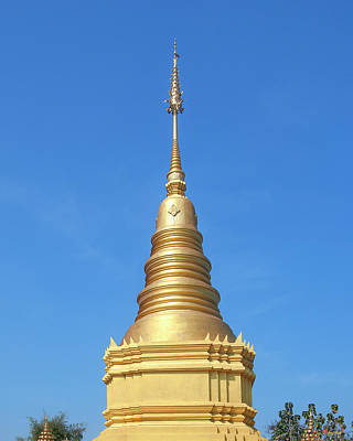 Photograph - Wat Si Chum Phra That Chedi Pinnacle Dthlu0129 by Gerry Gantt