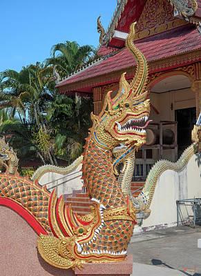 Photograph - Wat Si Chum Phra Ubosot Naga Dthlu0124 by Gerry Gantt