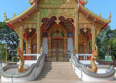 Photograph - Wat Si Ngam Phra Wihan Entrance Dthcm1902 by Gerry Gantt