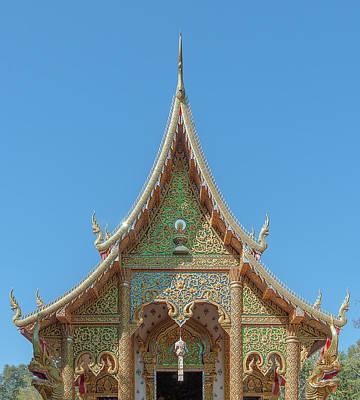 Photograph - Wat Suan Prig Phra Wihan Gable Dthcm2391 by Gerry Gantt