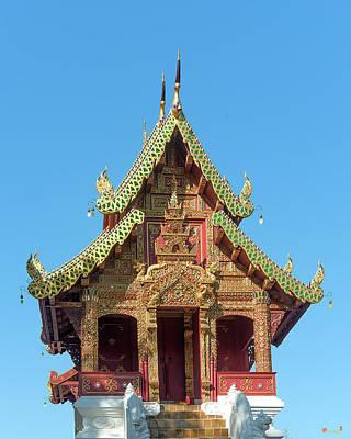 Photograph - Wat Tamnak Ho Trai Dthcm2316 by Gerry Gantt