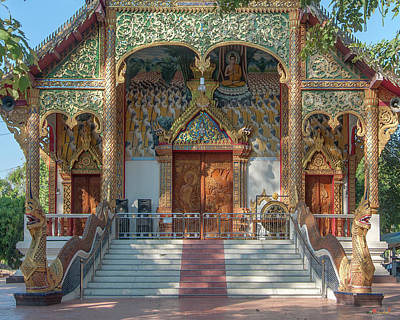 Photograph - Wat Tamnak Phra Wihan Entrance Dthcm2307 by Gerry Gantt