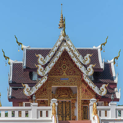 Photograph - Wat Thipwanaram Ho Tri Dthcm1831 by Gerry Gantt