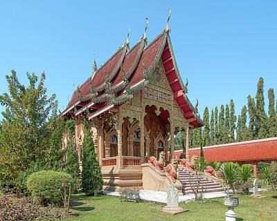 Photograph - Wat Thung Luang Phra Ubosot Dthcm2114 by Gerry Gantt