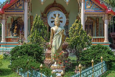Photograph - Wat Thung Luang Phra Wihan Standing Buddha Image Dthcm2108 by Gerry Gantt