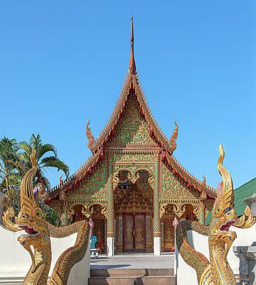 Photograph - Wat Tong Kai Phra Wihan Dthcm2333 by Gerry Gantt