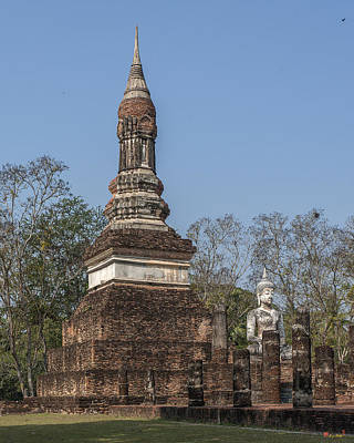 Photograph - Wat Traphang Ngoen Chedi Dthst0066 by Gerry Gantt