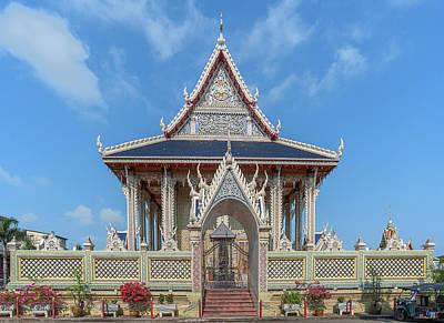 Photograph - Wat Tsai Phra Ubosot Dthb0398 by Gerry Gantt