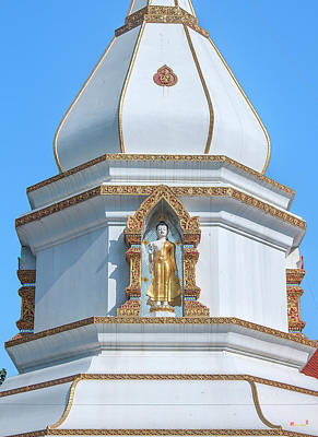 Photograph - Wat Wichit Wari Phra Chedi Buddha Image Niche Dthcm1762 by Gerry Gantt