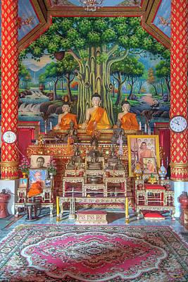 Photograph - Wat Wichit Wari Phra Wihan Buddha Images Dthcm1754 by Gerry Gantt