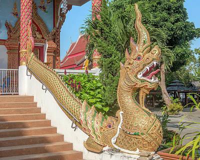 Photograph - Wat Wichit Wari Phra Wihan Makara And Naga Dthcm1749 by Gerry Gantt