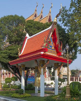Photograph - Wat Woranat Bonphot Bell Pavilion Dthns0031 by Gerry Gantt