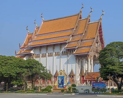 Photograph - Wat Woranat Bonphot Phra Ubosot Dthns0016 by Gerry Gantt