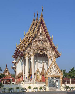 Photograph - Wat Woranat Bonphot Phra Ubosot Dthns0017 by Gerry Gantt