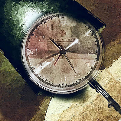 Digital Art - Watch At Hotel by Yury Malkov