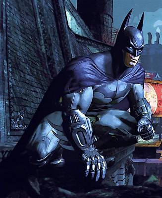 Watch Batman Poster Art Print