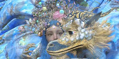 Surrealism Digital Art - Watch by Betsy Knapp