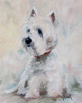 Watch Dog Art Print by Mary Sparrow