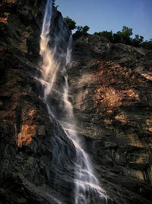 Geirangerfjord Waterfall Art Print by Jim Hill