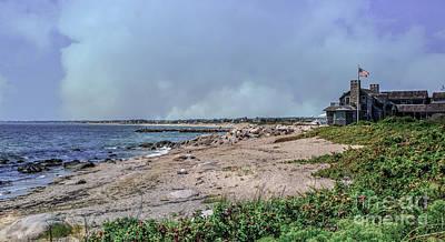 Photograph - Watch Hill Beach by Scott Hervieux