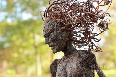 Sculpture - Watch Me Go Video Still Autumn Scene by Adam Long