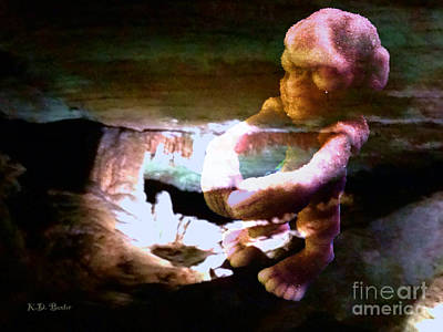 The X-files Photograph - Watch Out For The Cavemen Zombies by Kimberlee Baxter