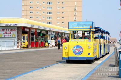 Photograph - Watch The Tram Car Please by Susan Stevenson