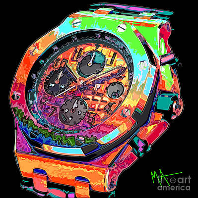 Digital Art - Watch This by Maria Arango