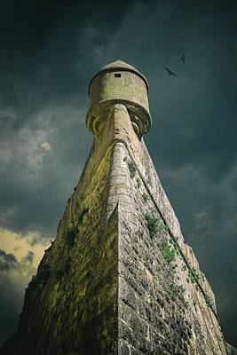 Old Fort Photograph - Watch Tower by Carlos Caetano