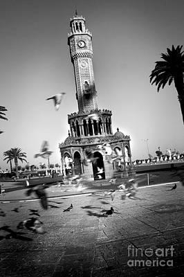 Watch Tower Art Print by Kadir Murat Tosun