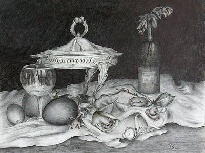 Drawing - Watch by Tracie L Hawkins