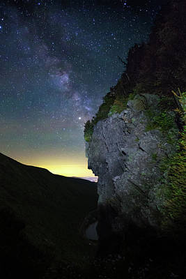 Photograph - Watcher Milky Way by Chris Whiton