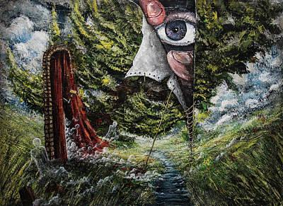 Painting - Watchers  by Mariusz Zawadzki