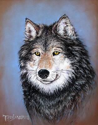 Watchful Gaze Art Print by Tanja Ware