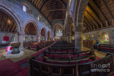 Old Christ Church Photograph - Watching Angels by Ian Mitchell