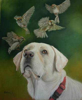 Painting - Watching Birds by Ceci Watson